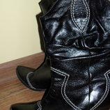 сапоги,ботинки женские , кожа
