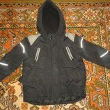 Зимняя куртка на 4-6 лет 116 рост