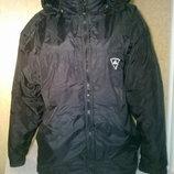 Отличная теплая мужская куртка фирмы Adidas, б/у