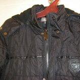 Фирменная, очень теплая куртка р. 134 -140