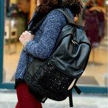 Рюкзак с паетками