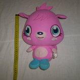 мягкая игрушка Moshi Monsters вся длина 28 см ,озвучена смеется при нажатии на животик