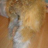 Эксклюзив стильная зимняя шапка с мехом лисы