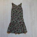 Яркое летнее платьице H&M для девочки, размер 4-6 лет, состояние новой вещи.