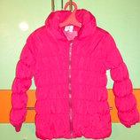 Термо куртка Тополино, р-р 128. Еврозима/ теплая деми.