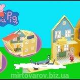 Игровой набор Peppa - ЗАГОРОДНЫЙ ДОМ ПЕППЫ домик с мебелью, 2 фигурки