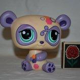 Пет шопы pet shop игрушки зоомагазин Littlest pet shop LPS Большая панда