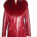 Кожаная куртка весна-осень-зима