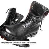Высокие ботинки 100% кожа на меху по оптовой цене.