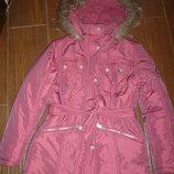 зимняя куртка с капюшоном Donilo рост 152