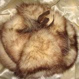 Шапка натуральный мех унисекс