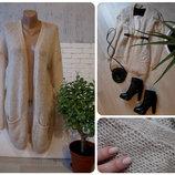 Вязанный свитер -кардиган