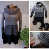 Теплое платье шерсть или свитер оверсайз
