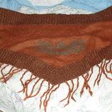 шерстяной шарф хомут