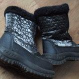 детские зимние сапоги, ботинки 25р