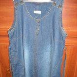 Чудесный джинсовый сарафанчик