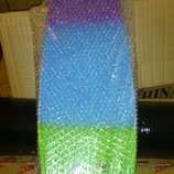 Penny Board Пенни борд Fish Skateboards Градиент трехцветный Fades