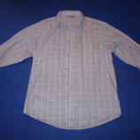 Рубашка мужская с длинным рукавом tyler размер uk size 16 euro 39/40