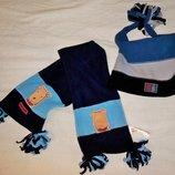 Флисовый набор и шапки, шапка, зимние и деми шапочки мальчику 2-5 лет.