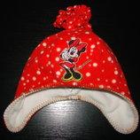 деми шапка Disney 48-50 см 2-4 года состояние отличное Верх-флис,подкладка-флис