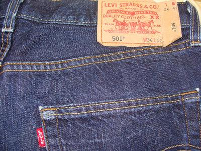 Мужские джинсы Levis 501 оригинал 34р Diesel