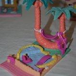 Домик дом Polly Pocket Bluebird для малюсеньких маленьких куколок кукол карманный Полли Покет