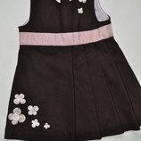 Теплый шерстяной сарафан H&M для малышки