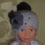Детская зимняя шапка - мечта любой мамы