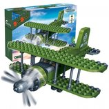 Конструктор 8827 Самолет 132 детали