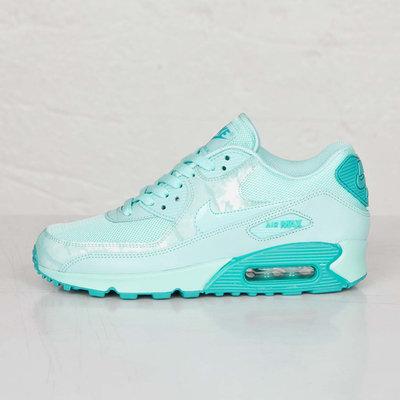 Женские кроссовки Nike Air Max 90 Premium - мятные