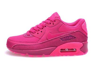 Женские кроссовки Nike Air Max 90 Premium - розовые