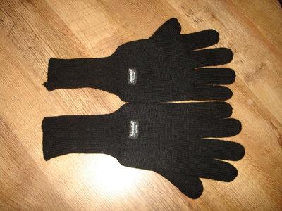 Трикотажные мужские перчатки, утеплитель Thinsulate insulation 40 gram фото 1-3 Трикотажные перчат