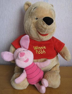 d56fdbf91f9b Мягкая игрушка Винни-Пух и Хрюня Disney: 250 грн - мягкие игрушки в ...