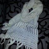 шарф мягкий двойной новый