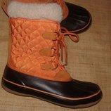 39р-25.5 см сапоги на слякоть и мороз Kamik Snow Fling Thinsulate отличное состояние