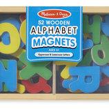 Деревянные обучающие игрушки, деревянные буквы на магнитах