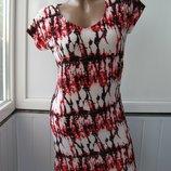 Платье майка пестрое легкое S/M