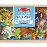 Деревянные игрушки сортеры, набор фигурок на магнитах из дерева