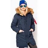 Женская зимняя куртка аляска ALTITUDE W PARKA альфа индастриз альтитуде парка