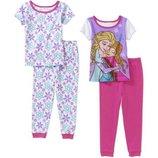 Пижамы Disney для девочек 4Т. Новые. Цена за комплект