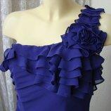 Платье женское элегантное нарядное коктейльное миди бренд Pearce Fionda р.46 4540