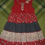 Летнее платье на рост 92-98