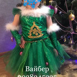 карнавальный костюм карнавальное платье елочки