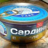 Рыбные консервы по Госту. Сайра, Сардина, Скумбрия, Шпроты, Салака
