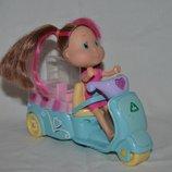 Rosie's World ELC Рози мир Рози куколка кукла с аксессуарами мотороллер скутер Фургончик с мороженым