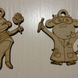 Обезьянки - игрушки - сувениры