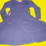 Хб платье 2 в 1,рост 104-110 см