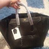 Шикарная новая кожаная сумка Celine