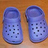 Красивые кроксы для девочки, размер 23 13 см