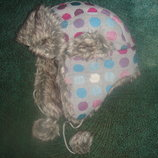 Новая стильная и тёплая шапка-ушанка Нawkins